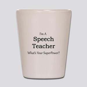 Speech Teacher Shot Glass