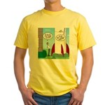 Model Rocket? Yellow T-Shirt