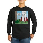 Model Rocket? Long Sleeve Dark T-Shirt
