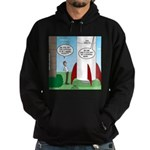 Model Rocket? Hoodie (dark)