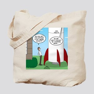 Model Rocket? Tote Bag