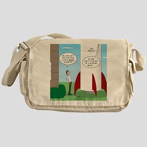 Model Rocket? Messenger Bag
