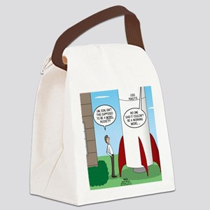 Model Rocket? Canvas Lunch Bag