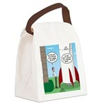 Model Rocket? Canvas Lunch Bag