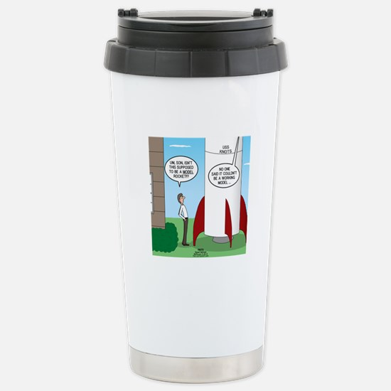 Model Rocket? Stainless Steel Travel Mug