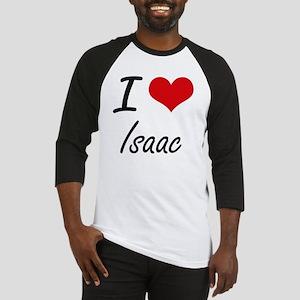 I Love Isaac Baseball Jersey