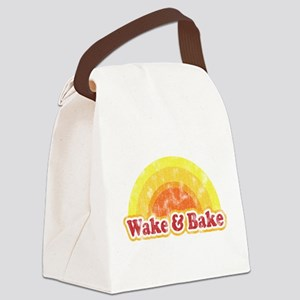 Wake and Bake Canvas Lunch Bag