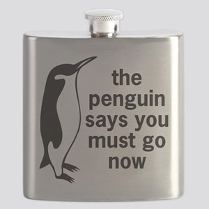 The Penguin Says Flask