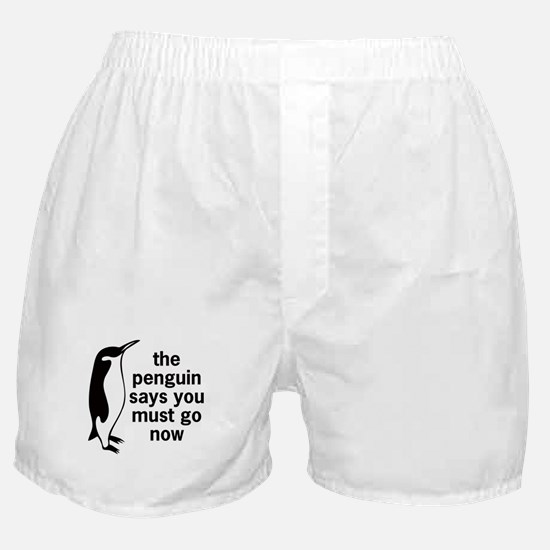 The Penguin Says Boxer Shorts