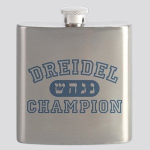 Dreidel Champion Flask