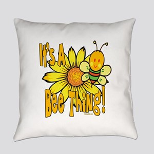 BumbleBeeItsABeeThing2 Everyday Pillow