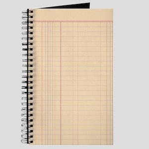 Ledger Paper Journal