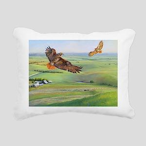 SRose Independence Rectangular Canvas Pillow