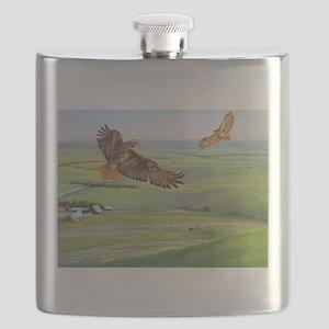 SRose Independence Flask