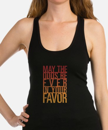May The Odds Racerback Tank Top