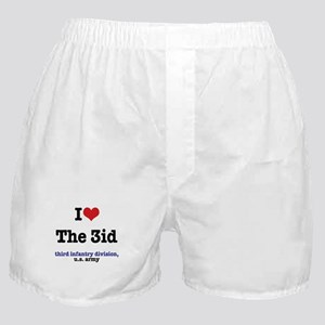 I (Heart) the 3ID Boxer Shorts