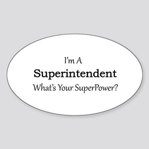 Superintendent Sticker