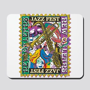 Jazz Fest New Orleans - Bourbon Street Mousepad