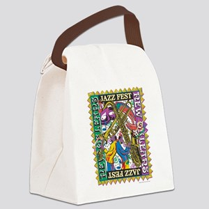 Jazz Fest New Orleans - Bourbon S Canvas Lunch Bag