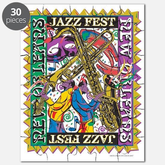 Jazz Fest New Orleans - Bourbon Street Puzzle