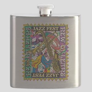 Jazz Fest New Orleans - Bourbon Street Flask