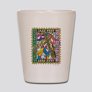 Jazz Fest New Orleans - Bourbon Street Shot Glass