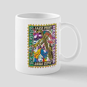 Jazz Fest New Orleans - Bourbon Street Mug