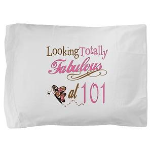 FabPinkBrown101 Pillow Sham