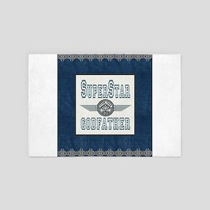 Blanket Blue Jean superstar godfather 4' x 6'