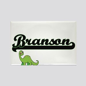 Branson Classic Name Design with Dinosaur Magnets