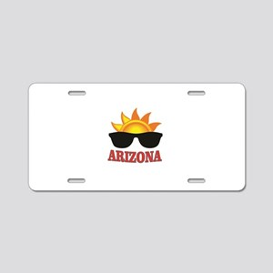 Arizona shades Aluminum License Plate