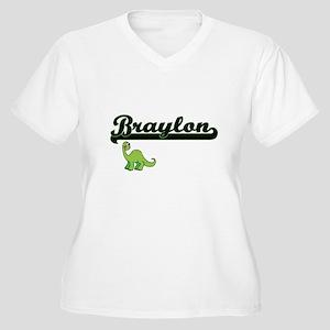 Braylon Classic Name Design with Plus Size T-Shirt