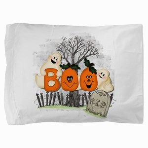 BOO Pillow Sham