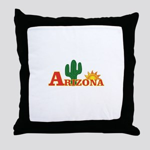 hot arizona Throw Pillow