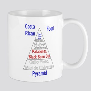 Costa Rican Food Pyramid Mug