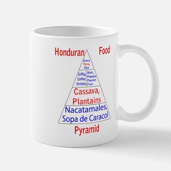 Honduran Food Pyramid Mug