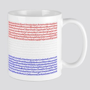 Dutch Cities Flag Mug