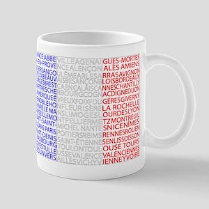 French Cities Flag Mug