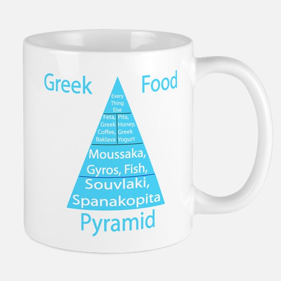 Greek Food Pyramid Mug