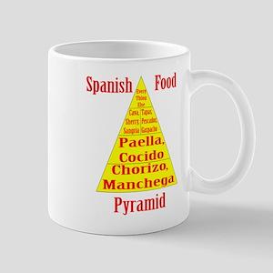 Spanish Food Pyramid Mug