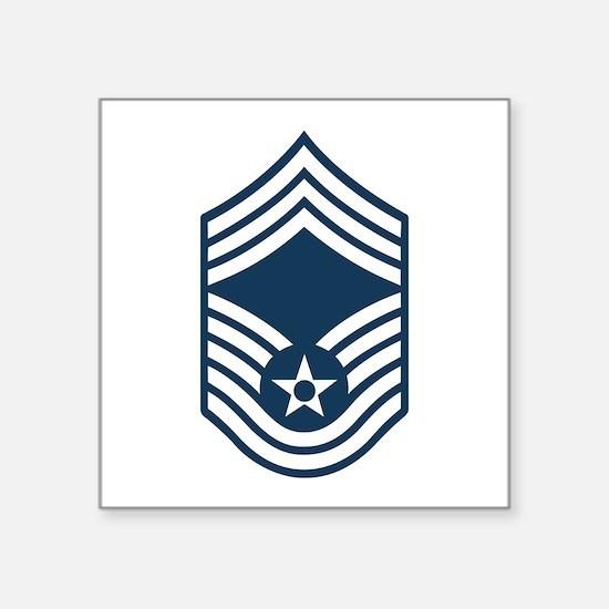 """Cute Air force rank Square Sticker 3"""" x 3"""""""