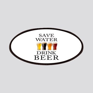 Save Water Drink Beer Patch