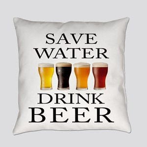 Save Water Drink Beer Everyday Pillow
