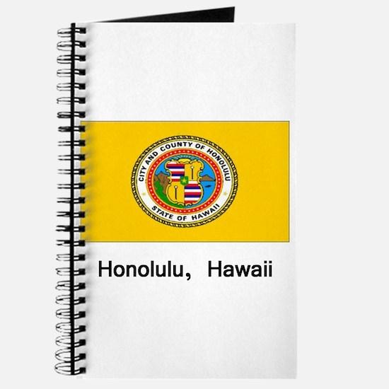 Honolulu HA Flag Journal