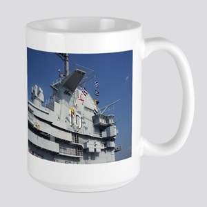 Uss Yorktown Large Mug Mugs