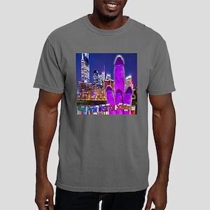 Giant Purple Mushroom Sc Mens Comfort Colors Shirt