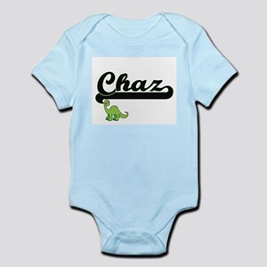 Chaz Classic Name Design with Dinosaur Body Suit