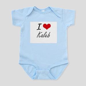 I Love Kaleb Body Suit