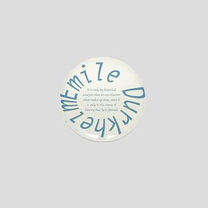 Sociology: Durkheim Quote Mini Button