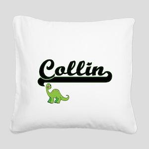 Collin Classic Name Design wi Square Canvas Pillow